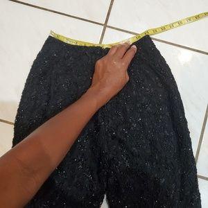 Chetta B Pants & Jumpsuits - 🔥 Final Price🔥🔥 Black Beaded Chetta B Pants